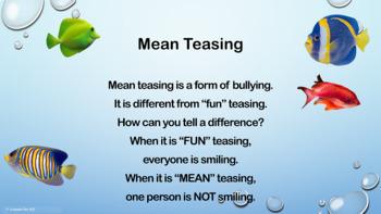 """Simon's Hook"" Mean Teasing Bullying Lesson w video PBIS Character Ed"