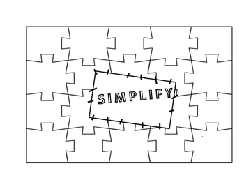 """""""Simplify"""" Puzzle Quilt"""