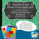 """Sinners In the Hands Of an Angry God"" Digital Interactive"