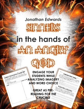"""""""Sinners in the Hands of an Angry God"""" Mini Bundle Pre-Reading for The Crucible"""