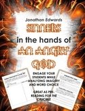 """Sinners in the Hands of an Angry God"" Mini Bundle Pre-Reading for The Crucible"