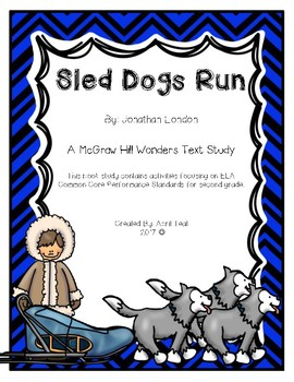 """Sled Dogs Run""  By J. London Book Study"