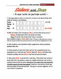 """Sliders and Slugs""  Student Engagement Strategy #6"