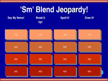 Sm Blend Jeopardy!