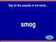 'Sm' Blend Jeopardy!
