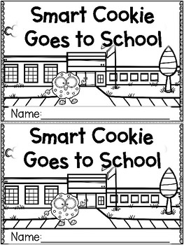 """Smart Cookie Goes to School"" (Fall/September Emergent Reader Dollar Deal)"
