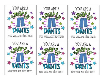 picture regarding Smartie Pants Printable identified as Smarty Trousers Tags Worksheets Schooling Elements TpT