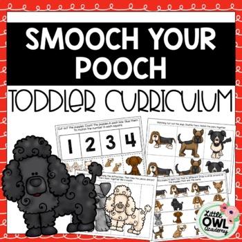 """Smooch Your Pooch"" Toddler Curriculum"
