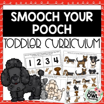 """Smooch Your Pooch"" Toddler Curriculum"