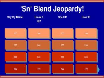 Sn Blend Jeopardy!