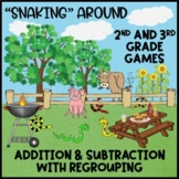 Addition and Subtraction with Regrouping - Games for 2nd a