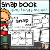 """""""Snap Book- Snapshots of My Year"""" Booklet/ Year Long Journal"""