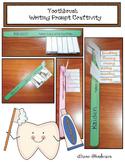 "Dental Hygiene Activities: ""Snip & Flip"" Writing Prompt To"