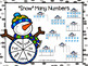 """Snow"" Many Numbers:  NO PREP Winter Spin and Cover Game"