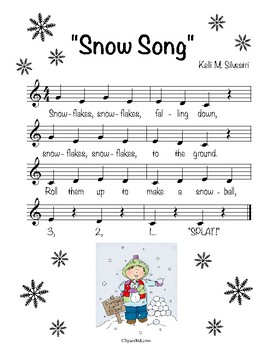 """""""Snow Song"""" (score only)"""