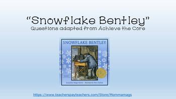 """""""Snowflake Bentley"""""""