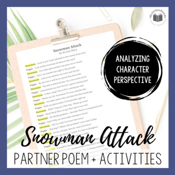 """Snowman Attack"" {A Seasonal Partner Poem}"