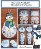 Snowmen At Night Sequencing & Retelling Snowman Craft & Activities
