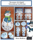 Snowmen At Night Sequencing & Retelling Snowman Craft & Ac