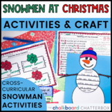 Snowmen at Christmas Book Activities
