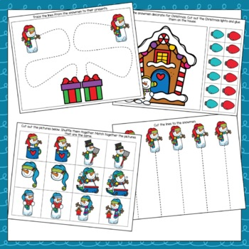 """Snowmen at Christmas"" Toddler Curriculum"