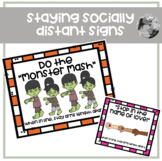 """""""Social Distance"""" Signs"""