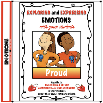 """ Social Emotional Learning and Perspective Taking - ""Proud"""
