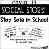 Social Story Covid 19 Safe in School