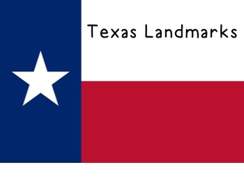 {Social Studies} FREE Texas Landmarks Lesson Plans