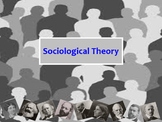 """""""Sociological Theories"""" Sociology PowerPoint"""