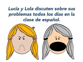 ¡Socorro!  30 Spanish Subjunctive Practice Speaking and Writing Prompts
