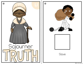 { Sojourner Truth } Black History Month Adapted Book Set