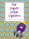 ,Solar System Unit for Early Elementary