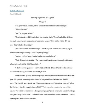 'Solving Mysteries is a Cynch' Short Story - Reading Strategies