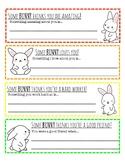 """Some BUNNY..."" Notes for Classroom Community, Springtime Relationship Building"