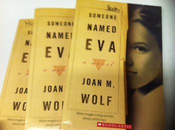 """Someone Named Eva"" books, by Joan M. Wolf  - Literature Circle Se"