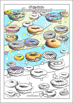 'Something Sweet' Coloring Page Printable