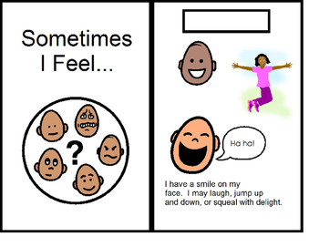 """""""Sometimes I Feel..."""" Interactive Book"""