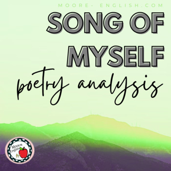 """""""Song of Myself"""" Reading Question and Writing Prompts"""
