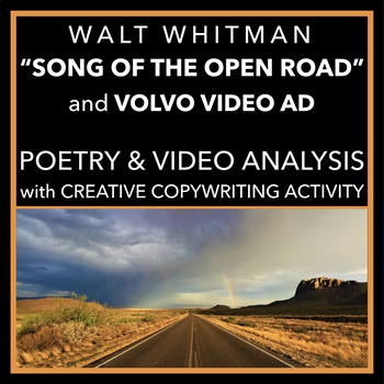 """Whitman's """"Song of the Open Road"""": Analysis & Multimedia Comparison"""