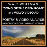 """Song of the Open Road"": Poem Analysis & TV Ad with Creati"