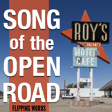 """Song of the Open Road"" Walt Whitman, 4-Lesson Poetry Pack"