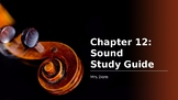 """""""Sound"""" Chapter 12 Powerpoint Harcourt Science Textbook"""