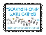 """""""Sound It Out"""" Wall Cards"""