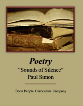 """""""Sounds of Silence"""" -- Paul Simon -- Poetry -- Song"""