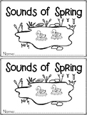 """Sounds of Spring"" An April/Spring Emergent Reader and Response Dollar Deal"