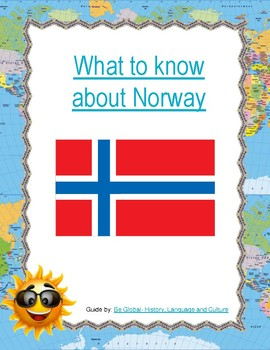 (Europe) What to know about Norway-  Reading Research Guide