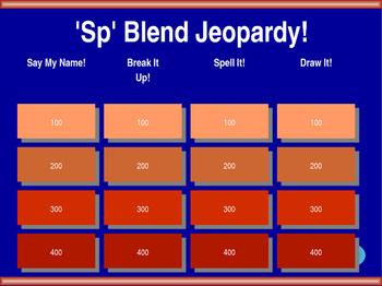 Sp Blend Jeopardy!
