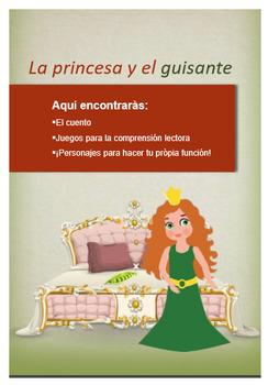 Printable Spanish Tale - COMPRENSIÓN LECTORA-  La princesa y el guisante.