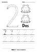 [Spanish] Numbers Tracing Worksheets - 0 to 10